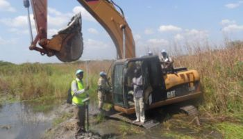 Digital Topographic Survey in Bentiu Protection Site – South Sudan for UNICEF South Sudan – WASH Programme