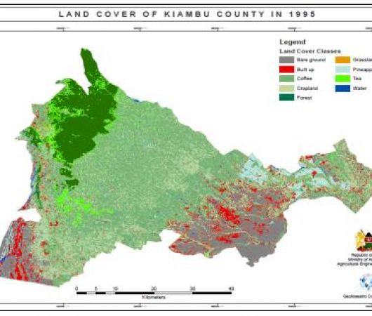 Consultancy Services to conduct a GIS/Remote Sensing Training and analyze land use/land cover changes in determining impacts on food security in Kiambu County