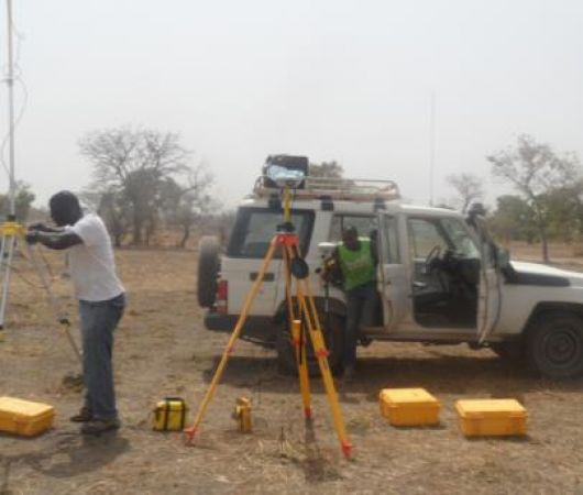 Topographical Surveying, Planning and demarcation of returnee plots undertaken in five states in South Sudan